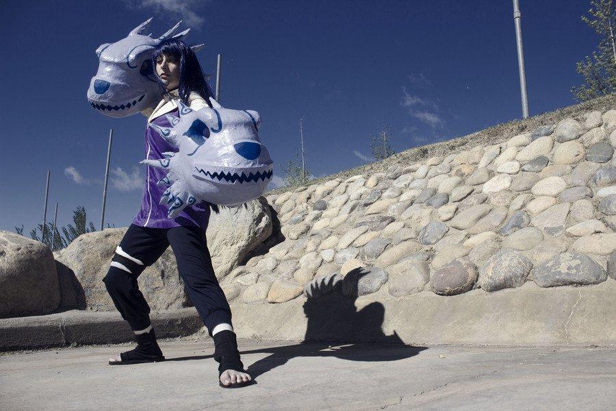 Amy Raki Hinata Naruto Cosplay