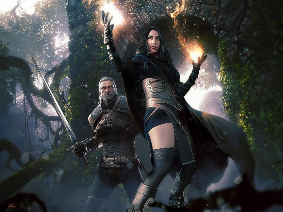 Lady Devilrose Yennefer The Witcher Cosplay
