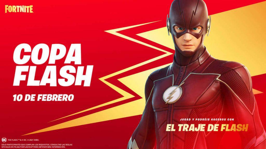 The Flash - Copa Fortnite