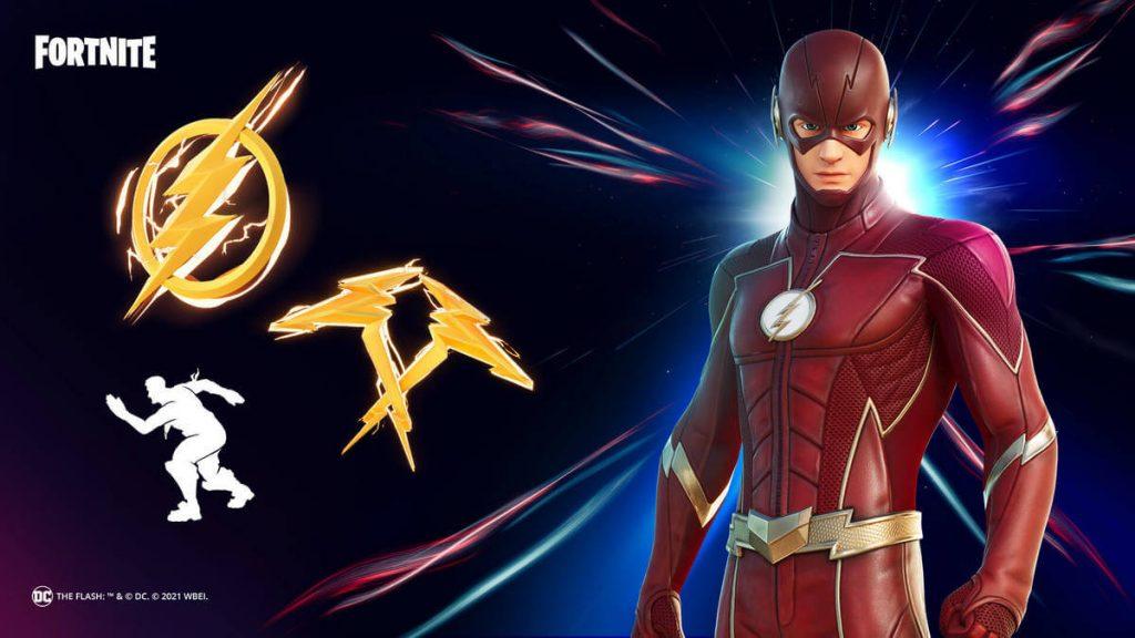 The Flash - Fortnite Pack