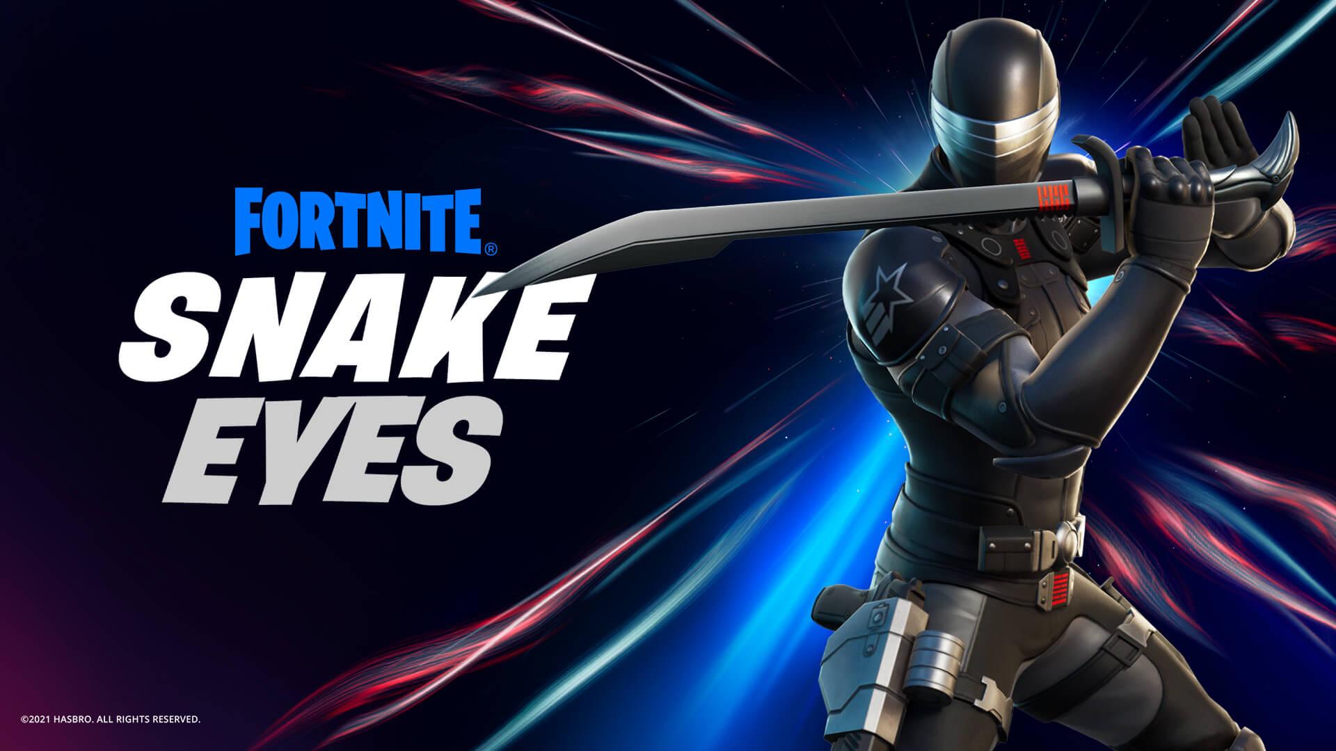 Snake Eyes en Fortnite