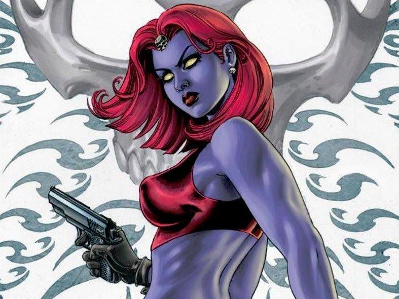 Mística de los cómics de X-Men