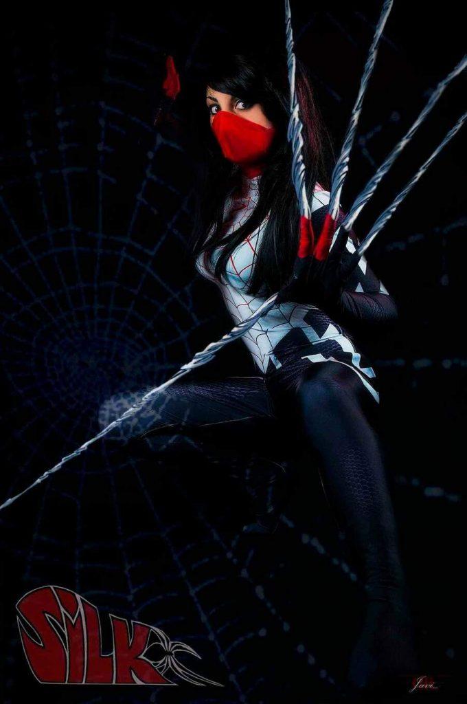 Amy Raki Silk Spiderman Cosplay